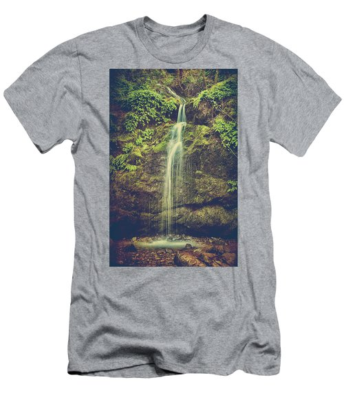 Men's T-Shirt (Slim Fit) featuring the photograph Let Me Live Again by Laurie Search