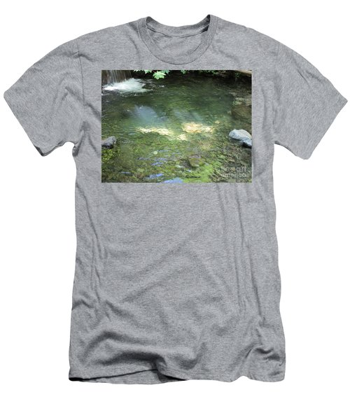 Men's T-Shirt (Athletic Fit) featuring the photograph Let The Sunshine by Marie Neder