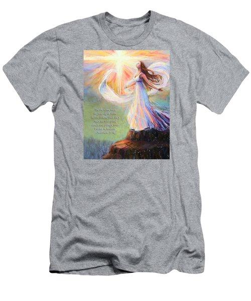 Let Your Light Shine Men's T-Shirt (Athletic Fit)