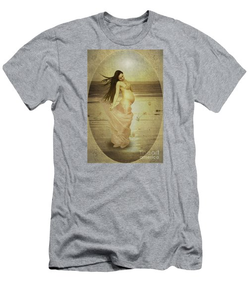 Let Your Soul And Spirit Fly Men's T-Shirt (Slim Fit) by Linda Lees