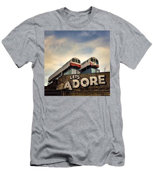 Lets Adore Shoreditch Men's T-Shirt (Athletic Fit)
