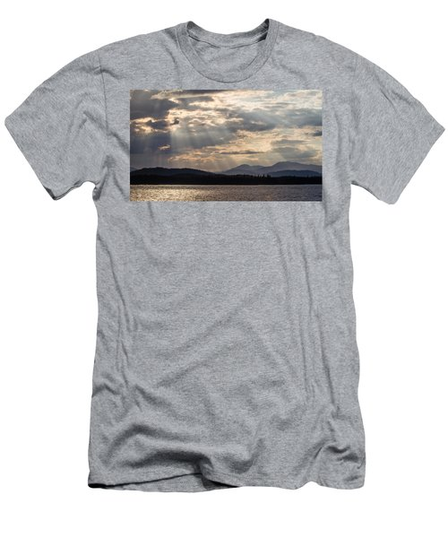 Men's T-Shirt (Slim Fit) featuring the photograph Let's Get Lost by Yvette Van Teeffelen
