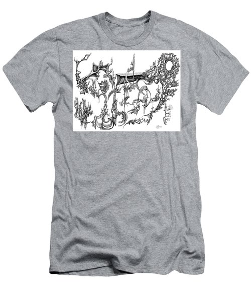 Levitation Men's T-Shirt (Slim Fit) by Charles Cater