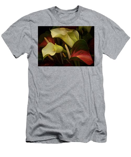 Men's T-Shirt (Slim Fit) featuring the photograph Li Ly Land by Richard Cummings