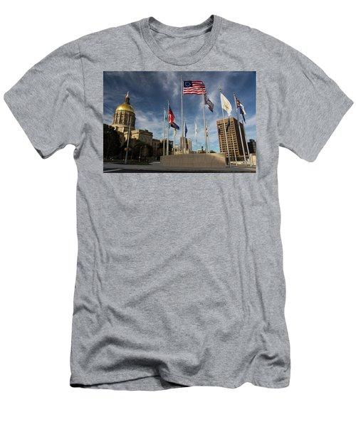 Liberty Plaza Men's T-Shirt (Athletic Fit)