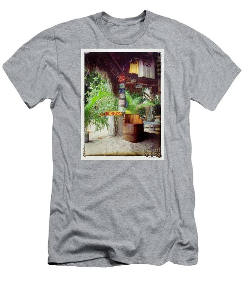License To Drink Men's T-Shirt (Slim Fit) by Linda Olsen