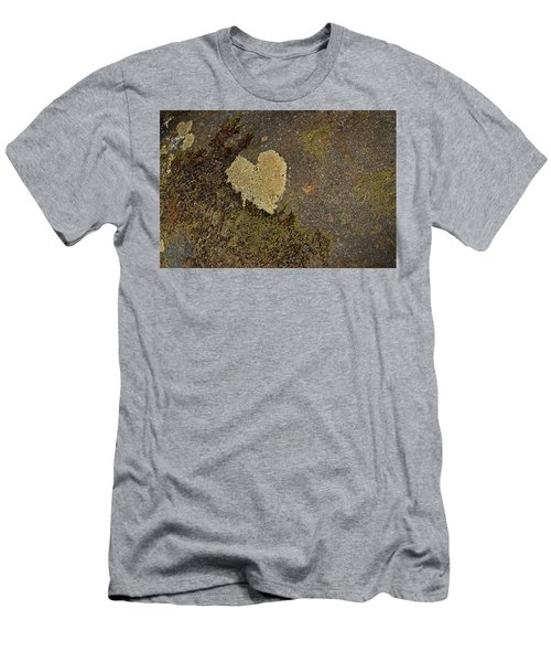 Men's T-Shirt (Slim Fit) featuring the photograph Lichen Love by Mike Eingle