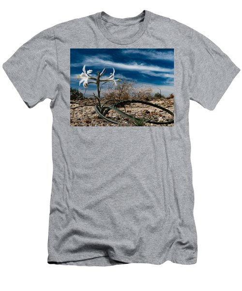 Life Amoung The Weeds Men's T-Shirt (Slim Fit) by Jeremy McKay