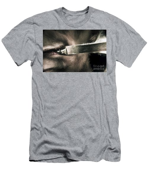 Life In The Knife Trade Men's T-Shirt (Athletic Fit)