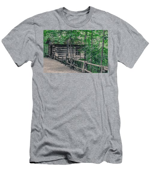 Men's T-Shirt (Slim Fit) featuring the photograph Life In The Ozarks by Annette Hugen