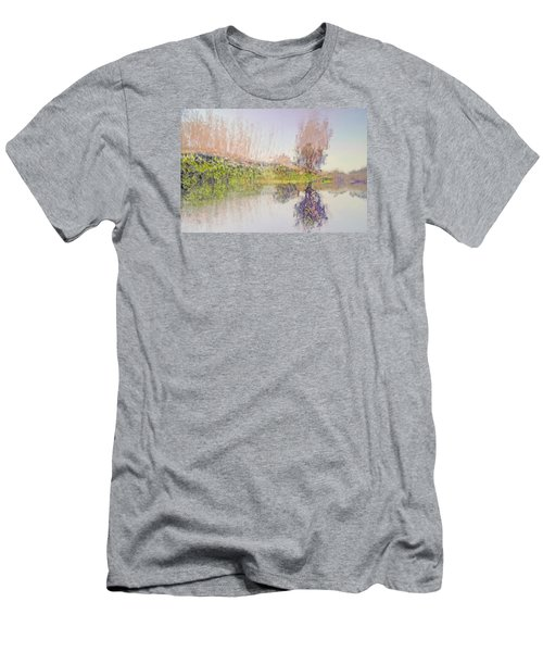 Life In The Water Villages Men's T-Shirt (Athletic Fit)