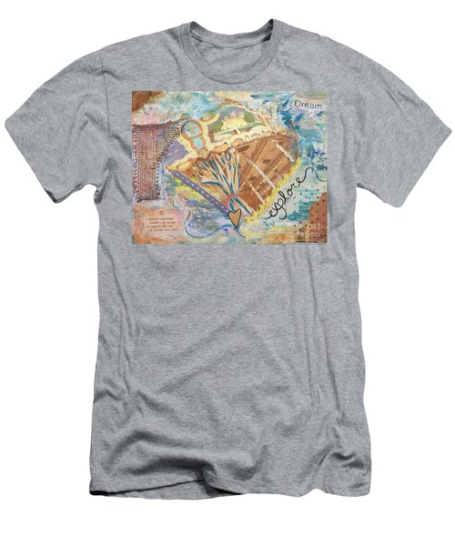 Life Is Joy Men's T-Shirt (Athletic Fit)