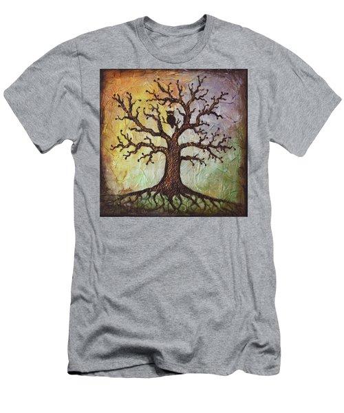 Life Of Wisdom Men's T-Shirt (Slim Fit) by Agata Lindquist