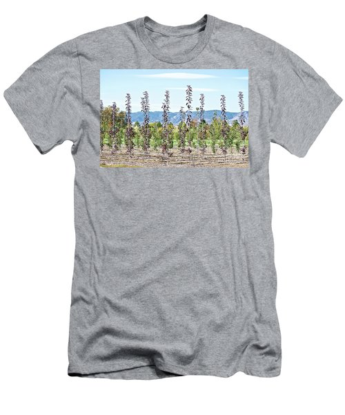 Life On A Tree Farm-foothills View #1 Men's T-Shirt (Athletic Fit)