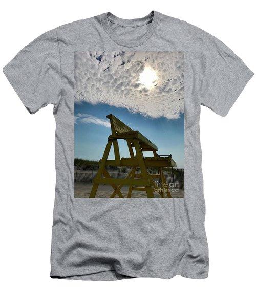 Lifeguard Chair Men's T-Shirt (Athletic Fit)