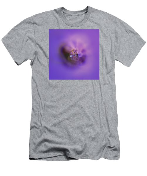 Men's T-Shirt (Athletic Fit) featuring the digital art Light And Sound Abstract by Robert Thalmeier