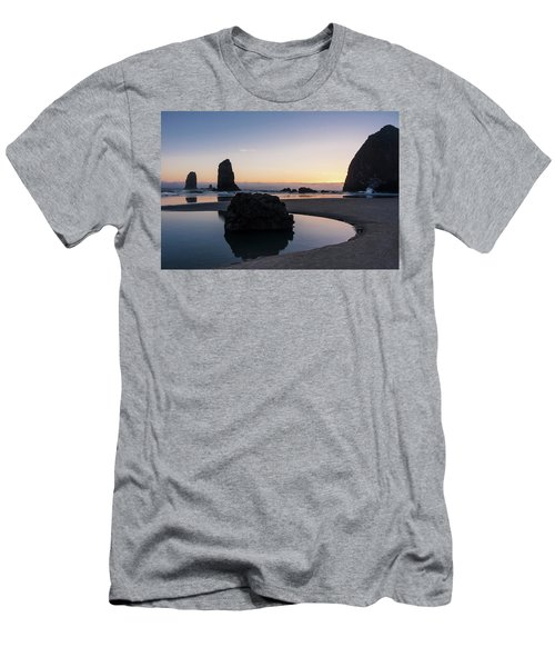 Light And Tide Men's T-Shirt (Athletic Fit)