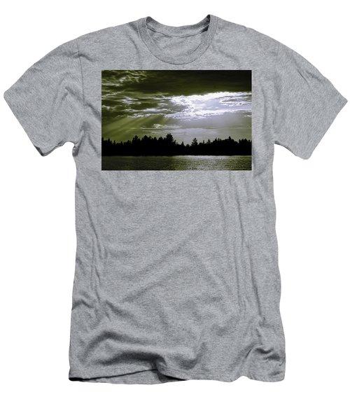 Light Blast In Evening Men's T-Shirt (Athletic Fit)