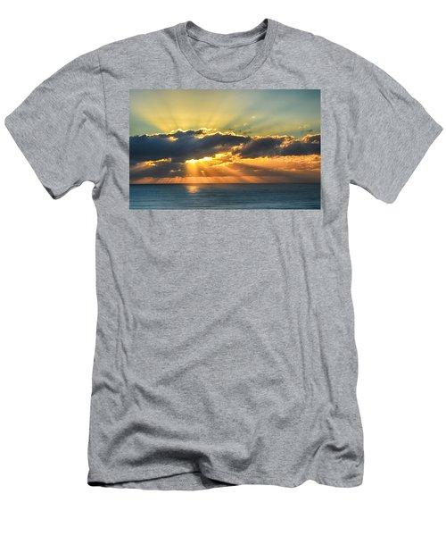 Light Explosion Men's T-Shirt (Athletic Fit)