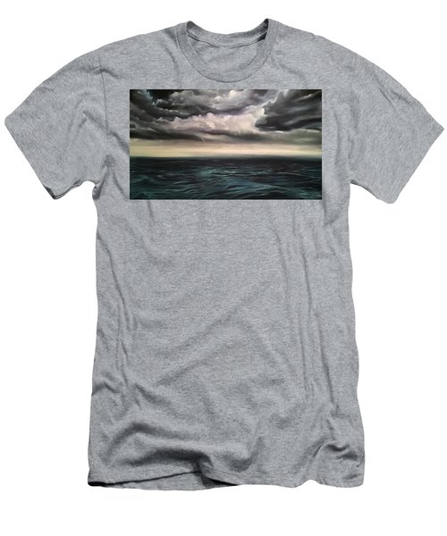 Light In The Darkness  Men's T-Shirt (Athletic Fit)