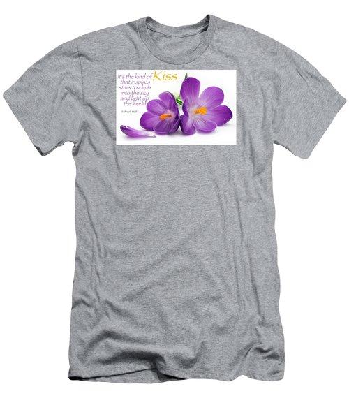 Light My Lips Men's T-Shirt (Slim Fit) by David Norman
