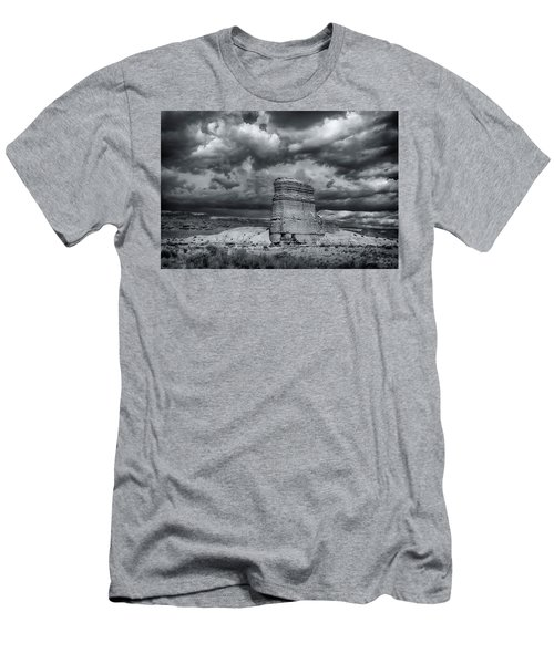 Light On The Rock Men's T-Shirt (Slim Fit) by John A Rodriguez