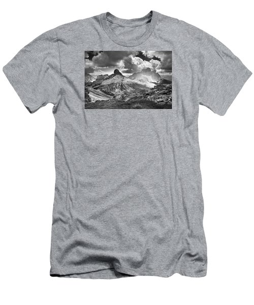 Men's T-Shirt (Slim Fit) featuring the photograph Light On The Valley by Yuri Santin
