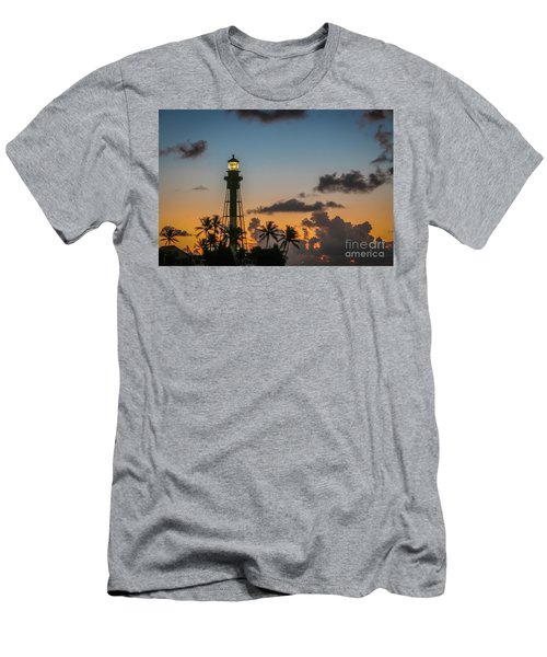 Lighthouse At Dawn #1 Men's T-Shirt (Athletic Fit)
