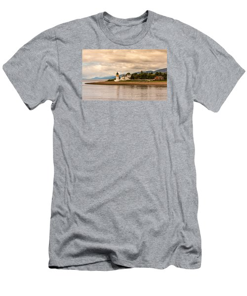 Lighthouse In The Highlands Men's T-Shirt (Athletic Fit)