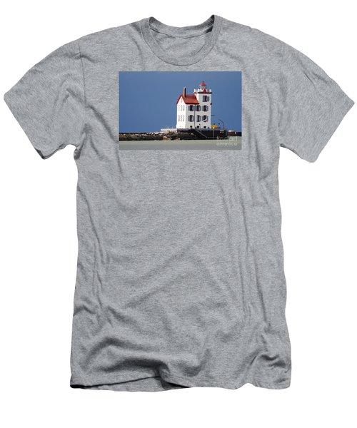 Lighthouse Oils Men's T-Shirt (Athletic Fit)