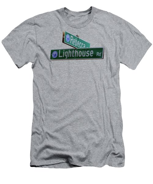 Lighthouse Road Men's T-Shirt (Athletic Fit)