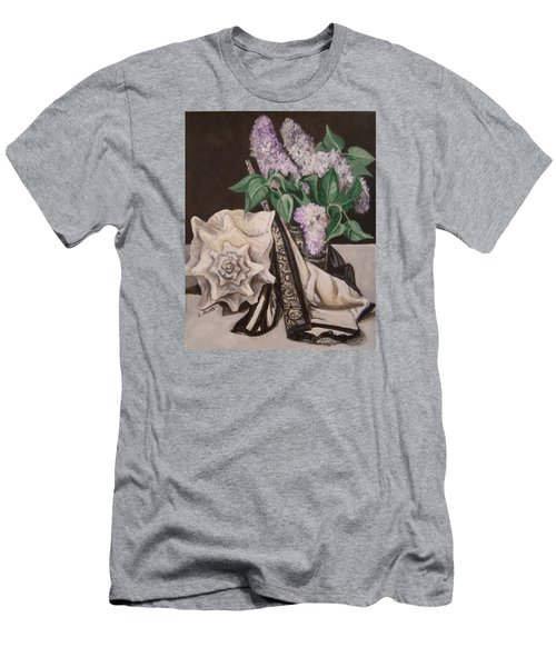 Lilac And Lingerie Men's T-Shirt (Slim Fit) by Laura Aceto
