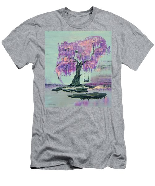 Lilac Dreams- Prince Men's T-Shirt (Athletic Fit)