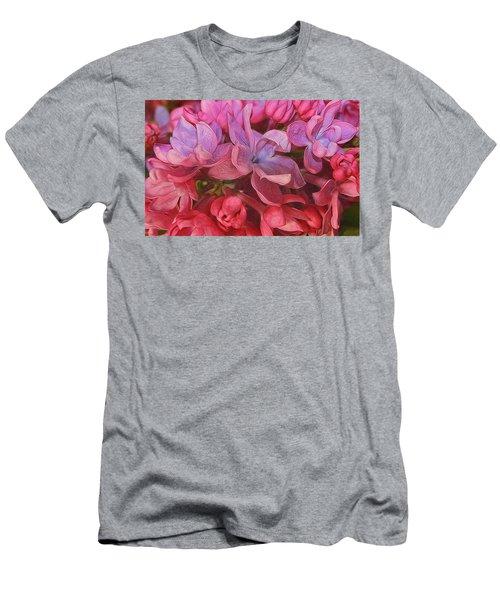 Lilac Blush Men's T-Shirt (Athletic Fit)