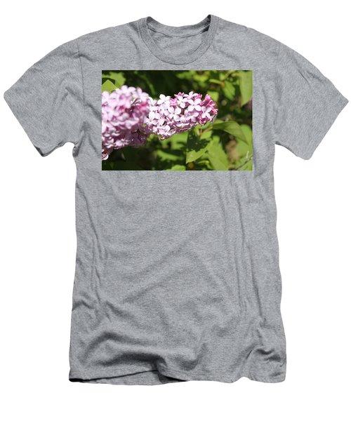 Men's T-Shirt (Slim Fit) featuring the photograph Lilacs 5550 by Antonio Romero