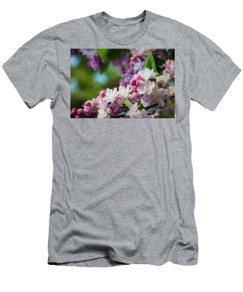 Lilacs Of Spring Men's T-Shirt (Athletic Fit)