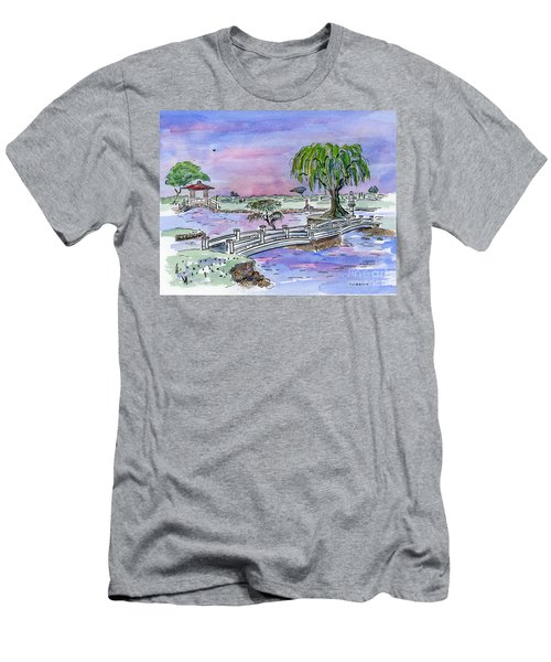 Liliuokalani Park Hilo Hawaii Men's T-Shirt (Athletic Fit)