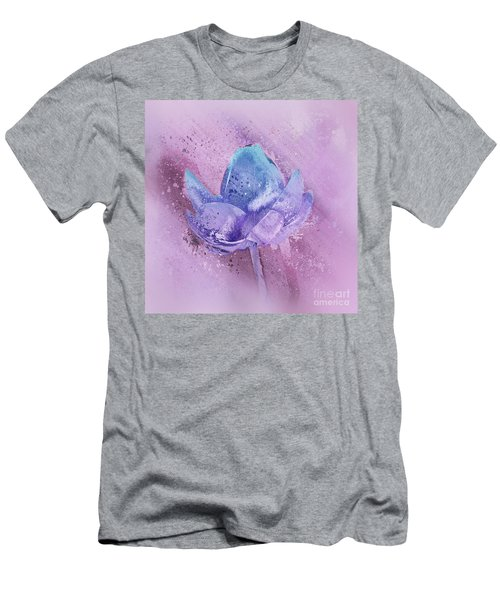 Men's T-Shirt (Slim Fit) featuring the digital art Lily My Lovely - S113sqc77 by Variance Collections