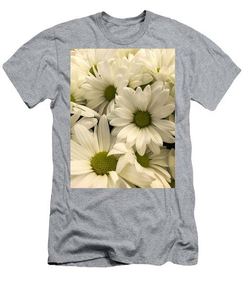 Lime Center Men's T-Shirt (Slim Fit) by Arlene Carmel