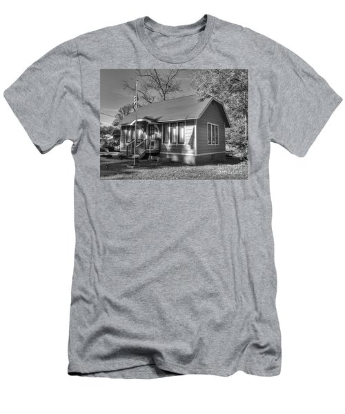 Lincoln Park Old Library Men's T-Shirt (Athletic Fit)