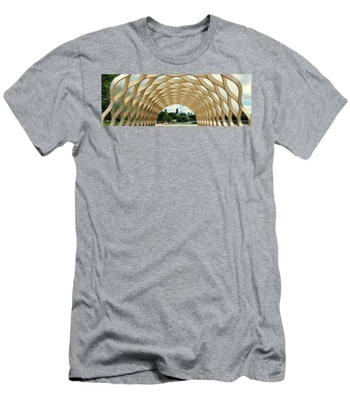 Lincoln Park Zoo Nature Boardwalk Panorama Men's T-Shirt (Athletic Fit)