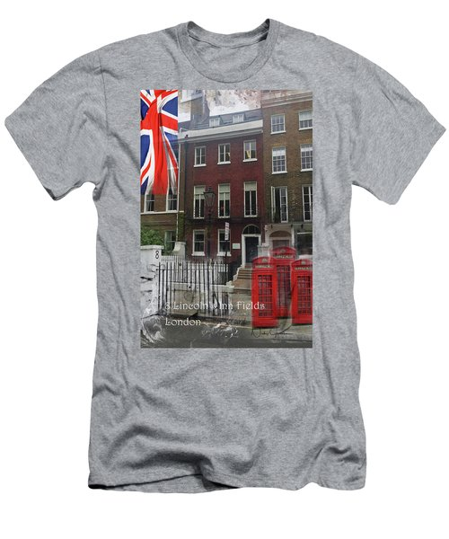 Lincoln's Inn Field Men's T-Shirt (Athletic Fit)