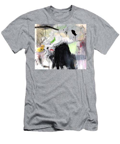 L'insaisissable-2 Men's T-Shirt (Athletic Fit)