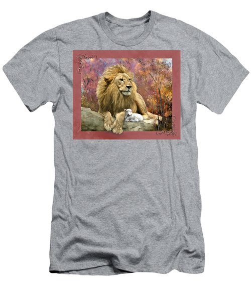 Lion And The Lamb Men's T-Shirt (Athletic Fit)