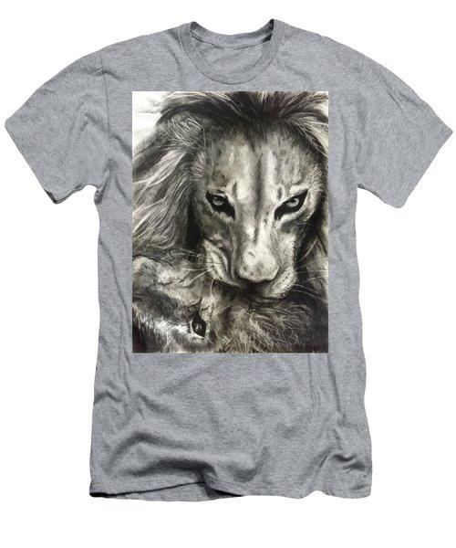 Lion's World Men's T-Shirt (Athletic Fit)