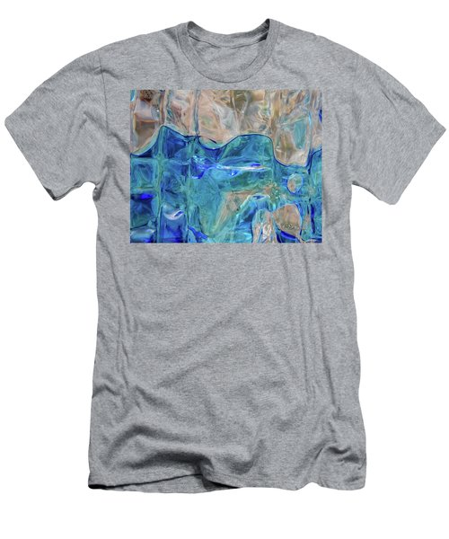 Liquid Abstract  #0060 Men's T-Shirt (Athletic Fit)