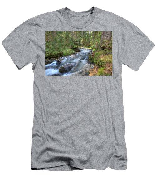 Liquid Snow Men's T-Shirt (Slim Fit) by Sean Allen