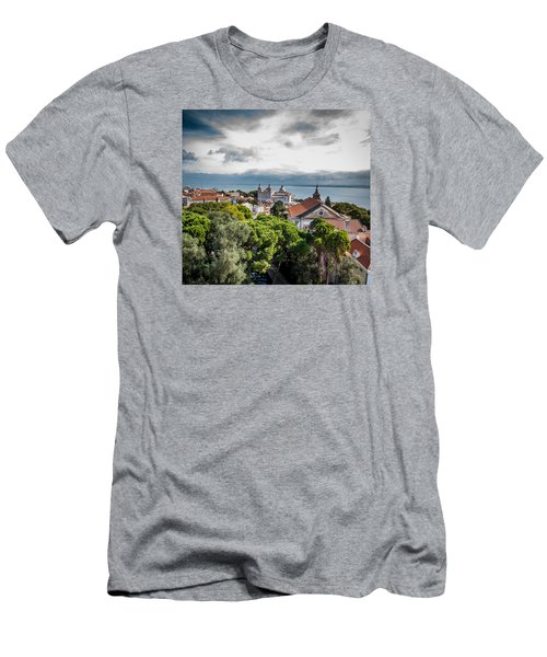 Lisbon Overlook Men's T-Shirt (Athletic Fit)