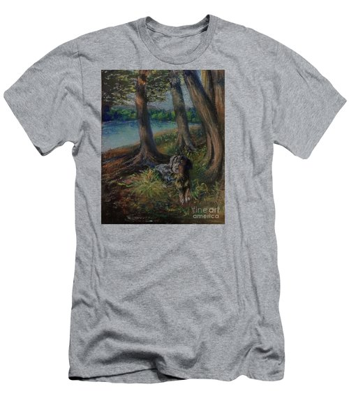 Listening To The Tales Of The Trees Men's T-Shirt (Athletic Fit)
