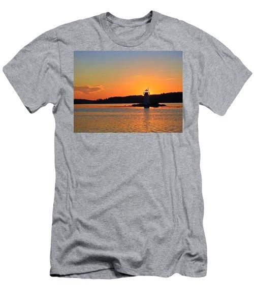 Lit By The Sun Men's T-Shirt (Athletic Fit)